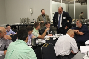 IWLA Retained Counsel Kevin Phillips discusses legal case studies with Essentials Course attendees.