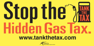 Tank the Tax Logo
