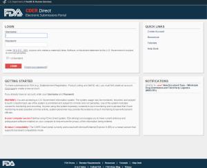 FDA Portal
