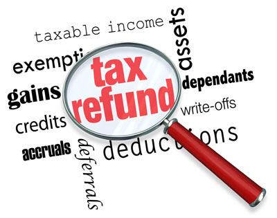 tax refund low