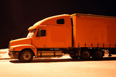 Truck at night low