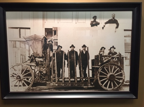 Delivery teams, circa 1895